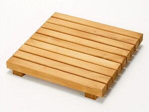 ウッドデッキ匠 すのこデッキ 30cm×30cm×厚み4cm:12枚セット(色:パイン)【ベランダ 天然木製 ウッドパネル ベランダガーデン おしゃれ 日本製 送料無料】