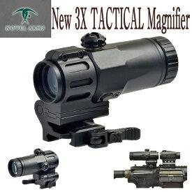 アフターセール ノーベルアームズ 3X TacTICAL MAGNIFIRE サバイバルゲーム サバゲー 正規品 アメリカ警察特殊部隊 SWAT ノーベルアームズ