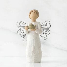 ウィローツリー天使像 キッチン   台所 おしゃれな天使の置物 大人向け フィギュア 人形 インテリア雑貨 Willow Tree Angel of the kitchen 正規輸入品