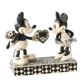 ミッキーとミニー リアルスゥイートハート 15cm ディズニー フィギュア 人形 置物 ジムショア グッズ Mickey Minnie Real Sweetheart ジム・ショア ディズニー トラディションズ トラディション JIM SHORE DISNEY TRADITIONS 正規輸入品