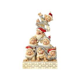 7人の小人(こびと) ホワイトウッドランド 白雪姫 20.3cm | ディズニー フィギュア 大人向け 人形 置物 ジムショア グッズ White Woodland Seven Dwarfs ジム・ショア ディズニー トラディションズ JIM SHOREJIM SHORE DISNEY TRADITIONS 正規輸入品
