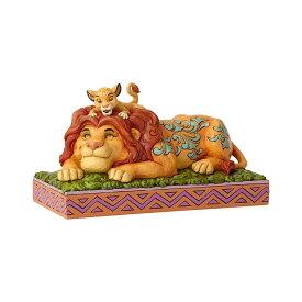 シンバとムファサ ライオンキング 11.2cm | ディズニー フィギュア 大人向け 人形 置物 ジムショア グッズ Simba & Mufasa ジム・ショア ディズニー トラディションズ JIM SHOREJIM SHORE DISNEY TRADITIONS 正規輸入品