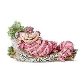 チェシャ猫 木の上で 不思議の国のアリス 6.9cm | ディズニー フィギュア 大人向け 人形 置物 ジムショア グッズ Cheshire Cat on Tree ジム・ショア ディズニー トラディションズ JIM SHORE DISNEY TRADITIONS 正規輸入品