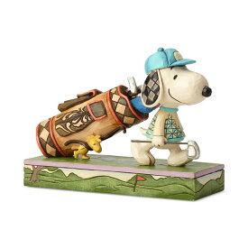 ゴルフ スヌーピーとウッドストック 7.6cm   スヌーピー フィギュア 大人向け 人形 置物 ジムショア グッズ Golf Snoopy & Woodstock ジム・ショア ピーナッツ JIM SHOREJIM SHORE PEANUTS 正規輸入品