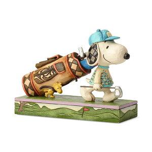 ゴルフ スヌーピーとウッドストック 7.6cm | スヌーピー フィギュア 大人向け 人形 置物 ジムショア グッズ Golf Snoopy & Woodstock ジム・ショア ピーナッツ JIM SHOREJIM SHORE PEANUTS 正規輸入品