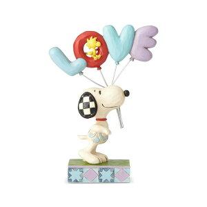 スヌーピー ラブ 風船 バルーン 18.8cm ? スヌーピー フィギュア 大人向け 人形 置物 ジムショア グッズ Snoopy with LOVE Balloon ジム・ショア ピーナッツ JIM SHOREJIM SHORE PEANUTS 正規輸入品