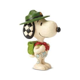 スヌーピー ボーイスカウト ミニ 8.9cm   スヌーピー フィギュア 大人向け 人形 置物 ジムショア グッズ Snoopy Boy Scout Mini ジム・ショア ピーナッツ JIM SHOREJIM SHORE PEANUTS 正規輸入品