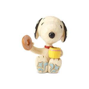 スヌーピー ドーナツとコーヒー ミニ 7.6cm | スヌーピー フィギュア 大人向け 人形 置物 ジムショア グッズ Snoopy Donut & Coffee mini ジム・ショア ピーナッツ JIM SHOREJIM SHORE PEANUTS 正規輸入品