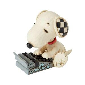 スヌーピー タイピング ミニ 7.6cm ? スヌーピー フィギュア 大人向け 人形 置物 ジムショア グッズ Snoopy Typing Mini ジム・ショア ピーナッツ JIM SHOREJIM SHORE PEANUTS 正規輸入品