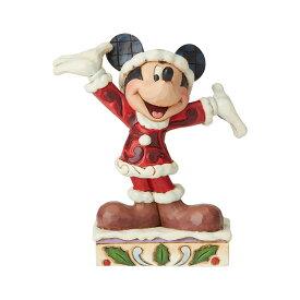 ミッキー クリスマス 11.7cm | ディズニー フィギュア 大人向け 人形 置物 ジムショア グッズ Mickey Christmas Personality ジム・ショア ディズニー トラディションズ JIM SHORE DISNEY TRADITIONS 正規輸入品