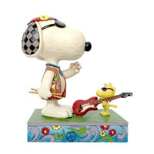 スヌーピー ウッドストック コンサート 14.7cm | スヌーピー フィギュア 大人向け 人形 置物 ジムショア グッズ Snoopy/Woodstock Concert Goers ジム・ショア ピーナッツ JIM SHORE PEANUTS 正規輸入品