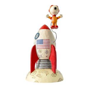 スヌーピー 宇宙飛行士 18.5cm ? スヌーピー フィギュア 大人向け 人形 置物 ジムショア グッズ Snoopy Astronaut ジム・ショア ピーナッツ JIM SHOREJIM SHORE PEANUTS 正規輸入品