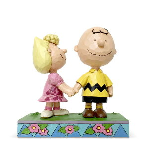 チャーリーブラウン サリー 14cm | スヌーピー フィギュア 大人向け 人形 置物 ジムショア グッズ Charlie Brown and Sally ジム・ショア ピーナッツ JIM SHOREJIM SHORE PEANUTS 正規輸入品
