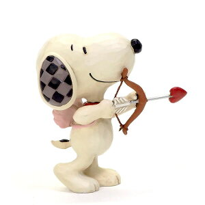 スヌーピー キューピッド ミニ 7.6cm ? スヌーピー フィギュア 大人向け 人形 置物 ジムショア グッズ Snoopy Mini Love ジム・ショア ピーナッツ JIM SHOREJIM SHORE PEANUTS 正規輸入品