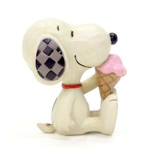 スヌーピー アイスクリーム ミニ 7cm ? スヌーピー フィギュア 大人向け 人形 置物 ジムショア グッズ Mini Snoopy with Ice Cream ジム・ショア ピーナッツ JIM SHOREJIM SHORE PEANUTS 正規輸入品