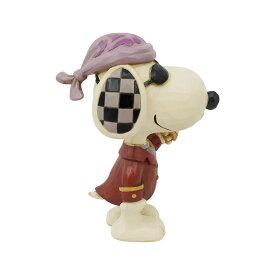 スヌーピー 海賊 ミニ 8cm | Mini Snoopy Pirate ジム・ショア ピーナッツ JIM SHORE