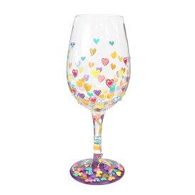 【スーパーSALE割引】ハートもめいっぱいに 22.4cm | HEARTS A MILLION TOO Lolita ワイングラス