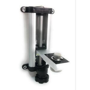 軽天ホルダー レーザー墨出し器 LGS 保持器 マグネット レベル 磁石 強力 水平器 三脚不要 クランプ 昇降調整機能磁石式 建物の柱 軽天スタッド アルミ製