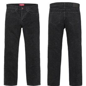 シュプリーム Supreme ストーンウォッシュ ブラックスリムジーンズ 32 Stone Washed Black Slim Jean