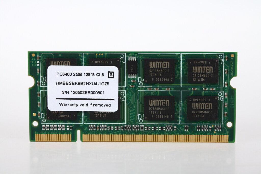 0130 WT-SD800-2GB ノートPC用SODIMM PC2 6400 2GB