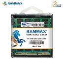 3051 RAMMAX RM-SD1333-D8GB (4GB 2枚組) DDR3 1333 (PC-10600) 8GB Dual