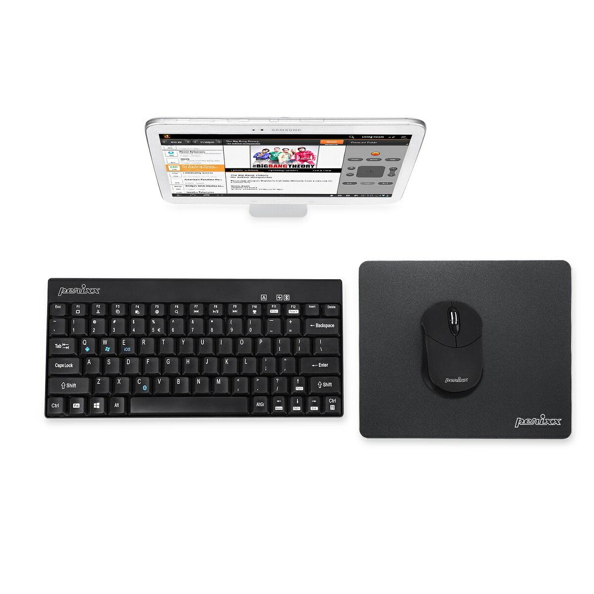 4980_11402 ぺリックス PERIMICE-802 ワイヤレス Bluetooth マウス 3ボタン 持ち運び便利 省電力 Windows/Android Tablet/PC向け【正規保証品】Perixx