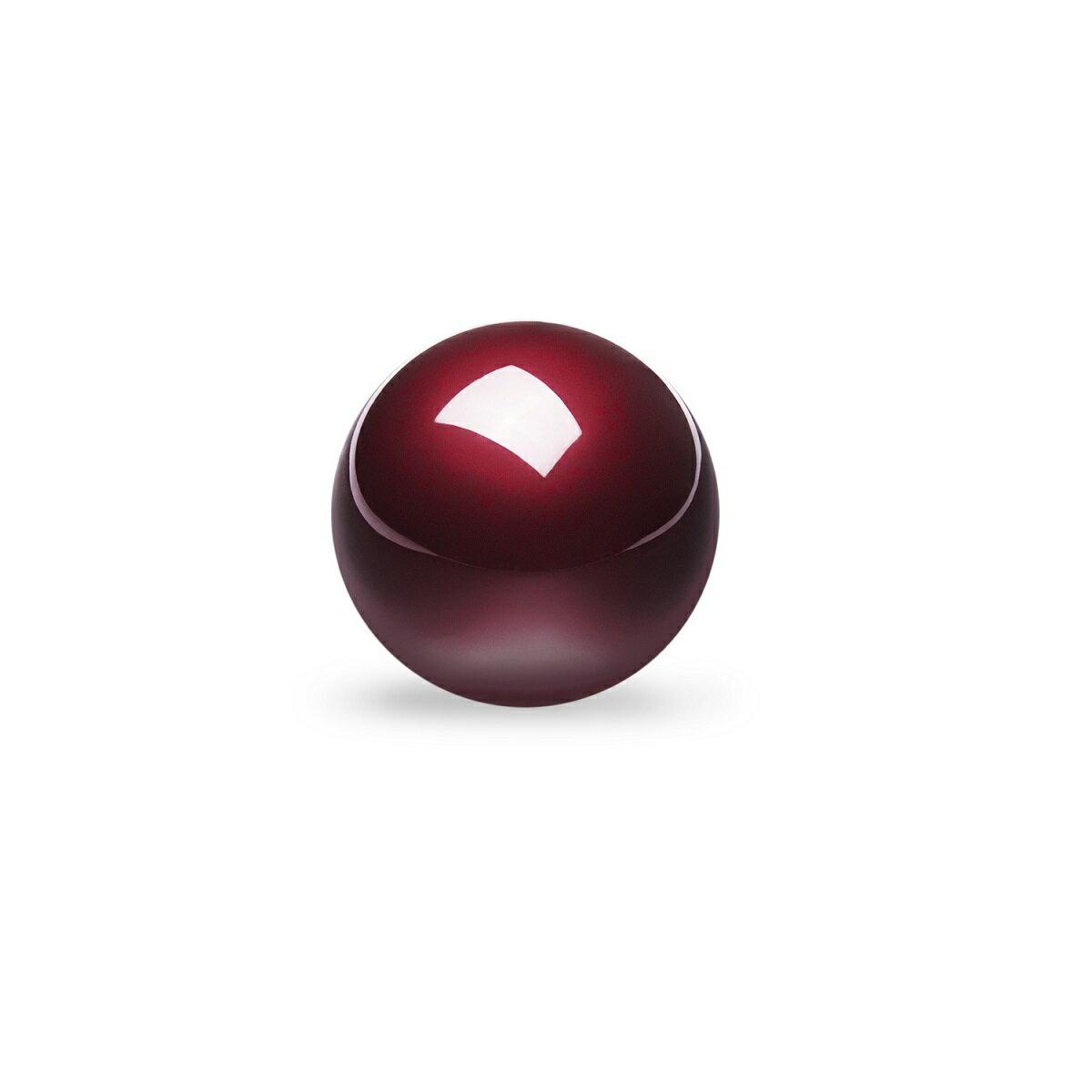 5020_18010 ぺリックス PERIPRO-303GR 34mm トラックボール 光沢仕上げ 艶出し加工 グロス・レッド スピード型 M570トラックボールと互換性有り【正規保証品】Perixx