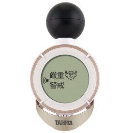 5165 タニタ デジタル温湿度計 TC-200-GD コンディションセンサー (炎天下での注意レベルをお知らせ) ゴールド TC-200