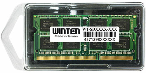 0606 WT-SD1066-4GB ノートPC用SODIMM DDR3 1066 (PC3-8500) 4GB