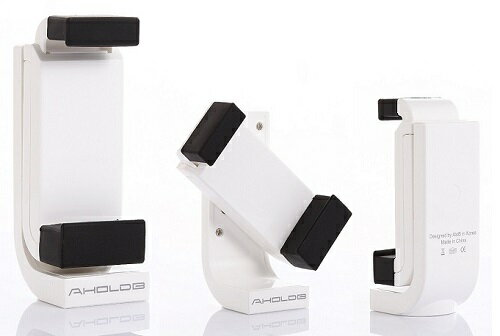 3683 Winten WT-HS01-WH スマートフォンホルダー Smart phone holder iPhone/スマホ 三脚ホルダー アタッチメント 90度回転 AHOLOB 5375【送料無料】
