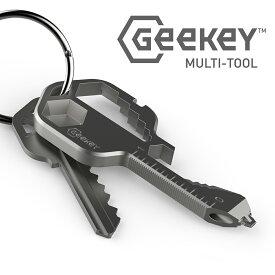 マルチツール Geekey キーサーズに16+以上の機能を搭載した 鍵型 マルチツール【国内正規代理店商品】