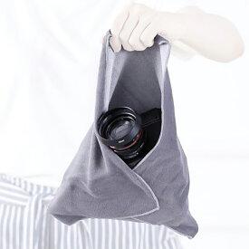 カメラ/レンズ 保護 重なねるとくっつく不思議な保護クロス Stick It Wrapper【L サイズ】 一眼レフカメラ、タブレット(12.9インチ)、望遠鏡等少し大きめのものに最適 送料無料