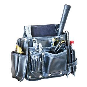 【DBLTACT】本革釘袋 ブラック DTL-99-BK