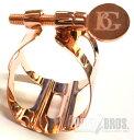 テナーサックス用リガチャー B.G. トラディション Rose Gold (L49)