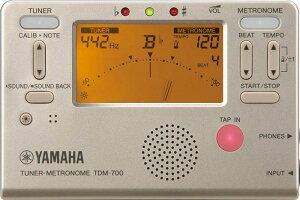 クロマチックチューナー&メトロノーム YAMAHA ヤマハ TDM-700G
