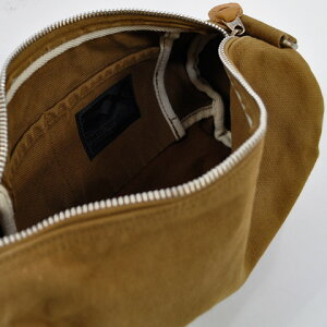 ButlerVernerSails|反応染め6号キャンバスロールショルダーバッグ