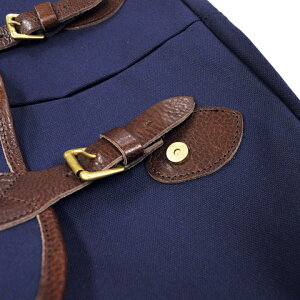 ButlerVernerSails|8号キャンバス×牛革付属フラップショルダーバッグ
