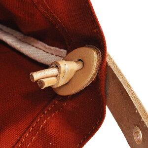 ButlerVernerSails|10号パラフィンキャンバス×ヌメ革ショルダーバッグ