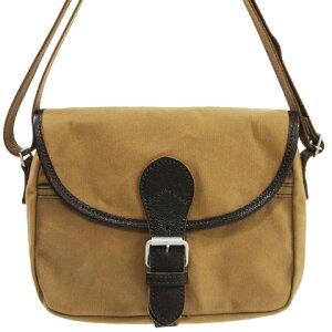 ButlerVernerSails|10号パラフィンキャンバスフラップショルダーバッグ