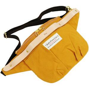 ButlerVernerSails|10号パラフィン×ヌメ革ワークショルダーバッグ
