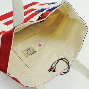 ButlerVernerSails|6号キャンバスアメリカンフラッグ柄トートバッグ