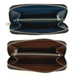 ButlerVernerSails|HORWEEN牛革ラウンドジップロングウォレット