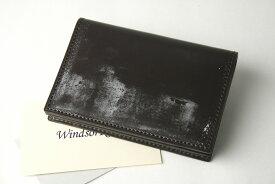 (ファイブウッズ) FIVE WOODS BASICS BRIDLE ベーシックブライドル カードケース 「CARDCASE」 ダークブラウン 日本製 ブライドルレザー 本革 メンズ 名刺入れ 43012( 送料無料 )