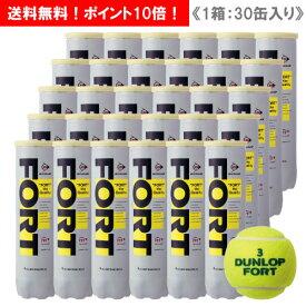 ダンロップ [DUNLOP] フォート キャンペーン 1箱(1缶4球入/30缶/120球※10ダース)ペットボトル缶 テニスボール