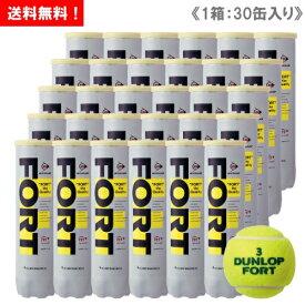 ダンロップ [DUNLOP] フォート(FORT) キャンペーン 1箱(1缶4球入/30缶/120球※10ダース)ペットボトル缶 テニスボール