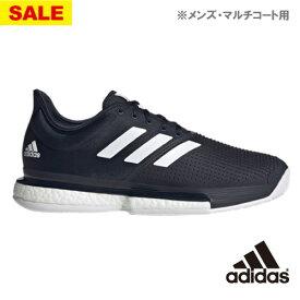 【SALE】アディダス SoleCourt M MC(FU8115)[adidas シューズ メンズ] ※マルチコート用
