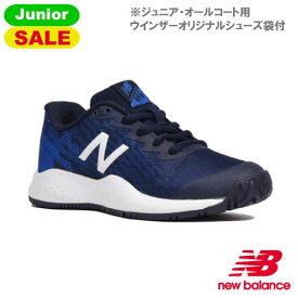 【SALE】ニューバランス テニスシューズ KC996 NAVY/BLUE [new balance Jrシューズ オールコート用]