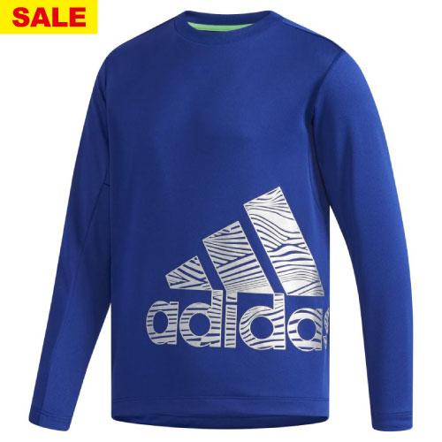 【ワゴンセール価格】アディダス B TRN CLIMALITE 長袖Tシャツ(FAP18-DH4027)[adidas MS ボーイ]