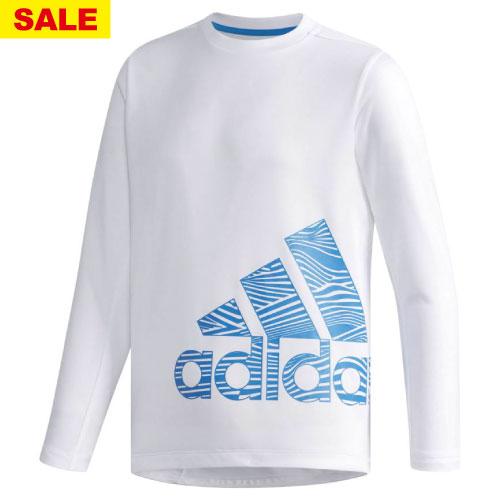 【ワゴンセール価格】アディダス B TRN CLIMALITE 長袖Tシャツ(FAP18-DH4032)[adidas MS ボーイ]
