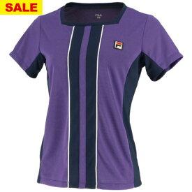 【SALE】フィラ ゲームシャツ(VL1994-40)[FILA LS レディース]
